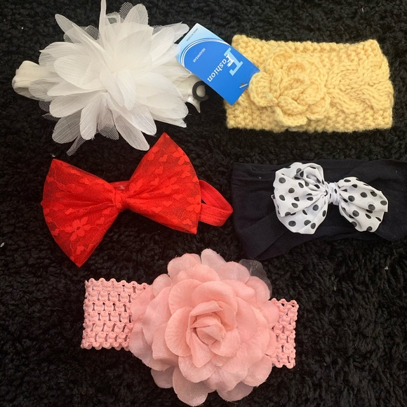 Other - Headbands for baby girl